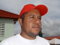 Communal leader Angel Prado